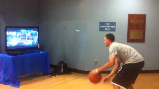 "Stephen Curry playing ""Baller Beats"" for Xbox 360"