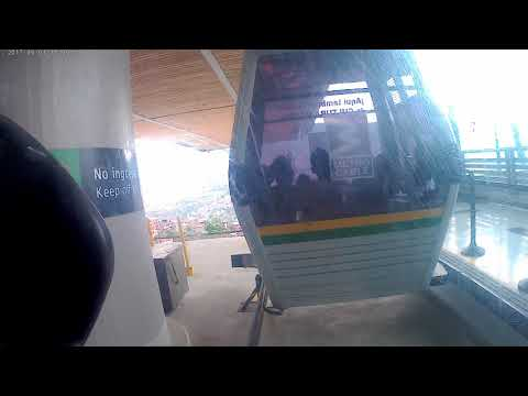 Medellin Columbia Cable Car ride BCV2017