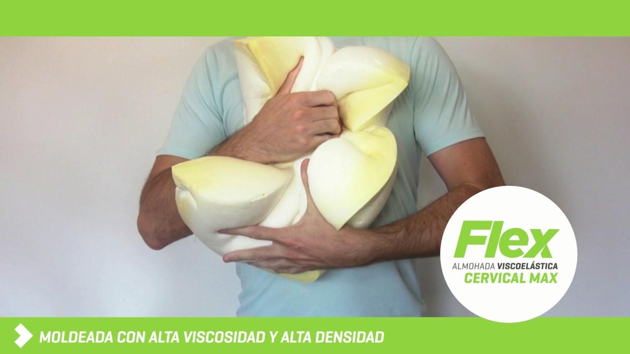 Almohada viscoelastica cervical flex youtube - Almohada cervical ...