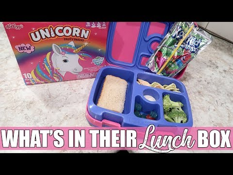 First Full School Week of 2019 | What My Kids Took for Lunch