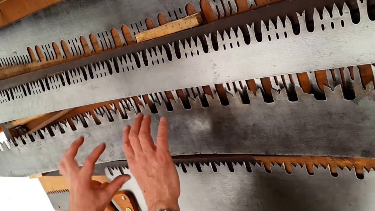 Overview of Crosscut Saw Sharpening course