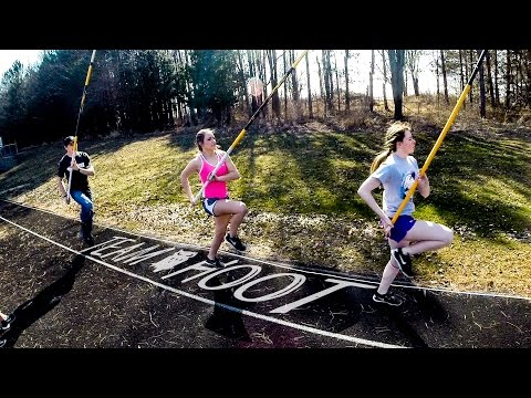 Team Hoot Camp Athens Wi : Pole Vault Vlog 109