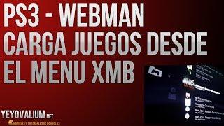 PS3 - Cargar juegos desde el menu XMB con Webman