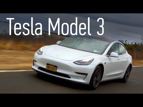 Tesla Model 3 едет в Россию: первый тест-драйв, полный обзор, разгон до 100 км/ч и автопилот