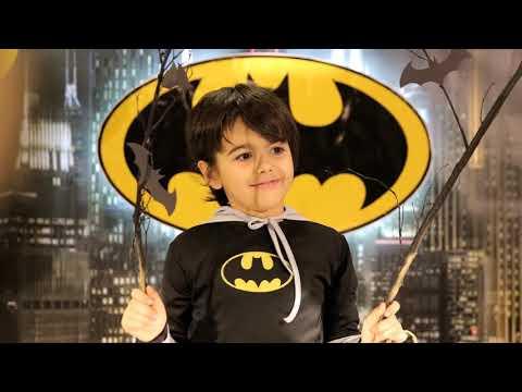 Mehmet Vahit 8 yaşında... Batman...