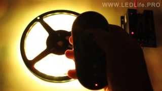 Контроллер RGB-ленты сенсорный, радио(Сенсорный контроллер для светодиодной RGB-ленты. Радиус действия 20 метров. Прочитать подробнее и купить..., 2014-02-22T21:16:28.000Z)