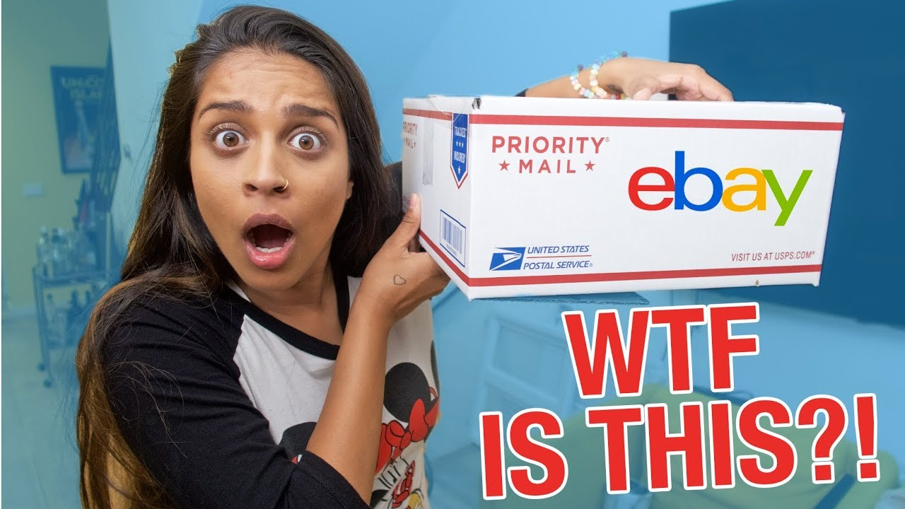 Unboxing Mystery Box From Ebay Only 20 Youtube