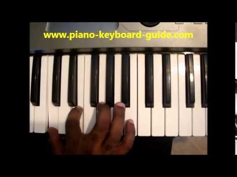 How To Play Cmaj7 Chord C Major Seventh C Maj 7th On Piano