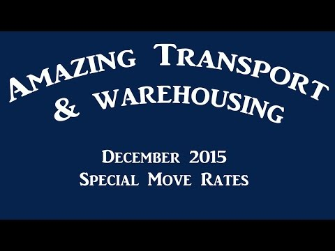 Amazing Transport & Warehousing - Furniture and household removals