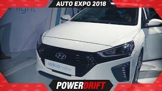 Thank You Shahrukh Khan, Hyundai Ioniq @ Auto Expo 2018 : PowerDrift