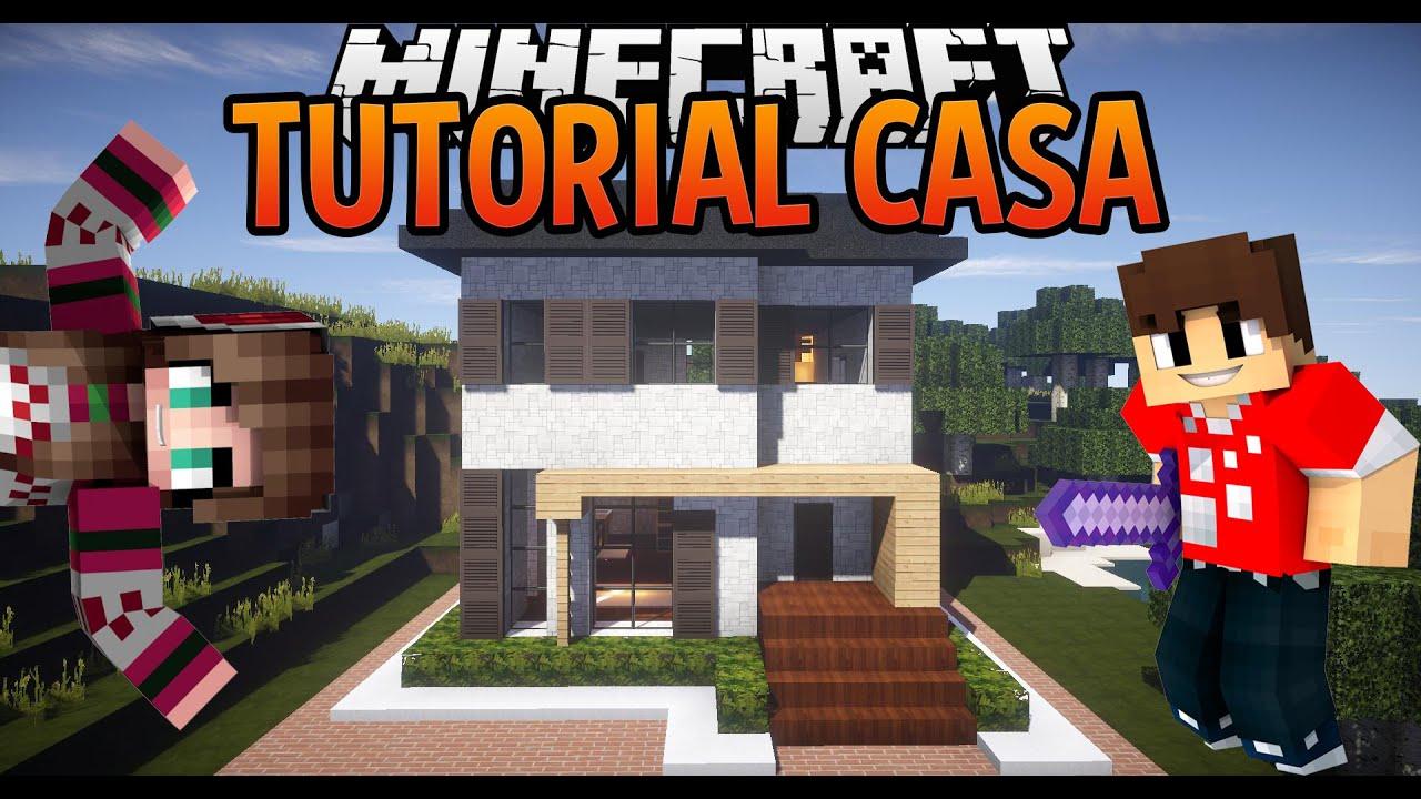 COME COSTRUIRE UNA CASA IN MINECRAFT 2  YouTube