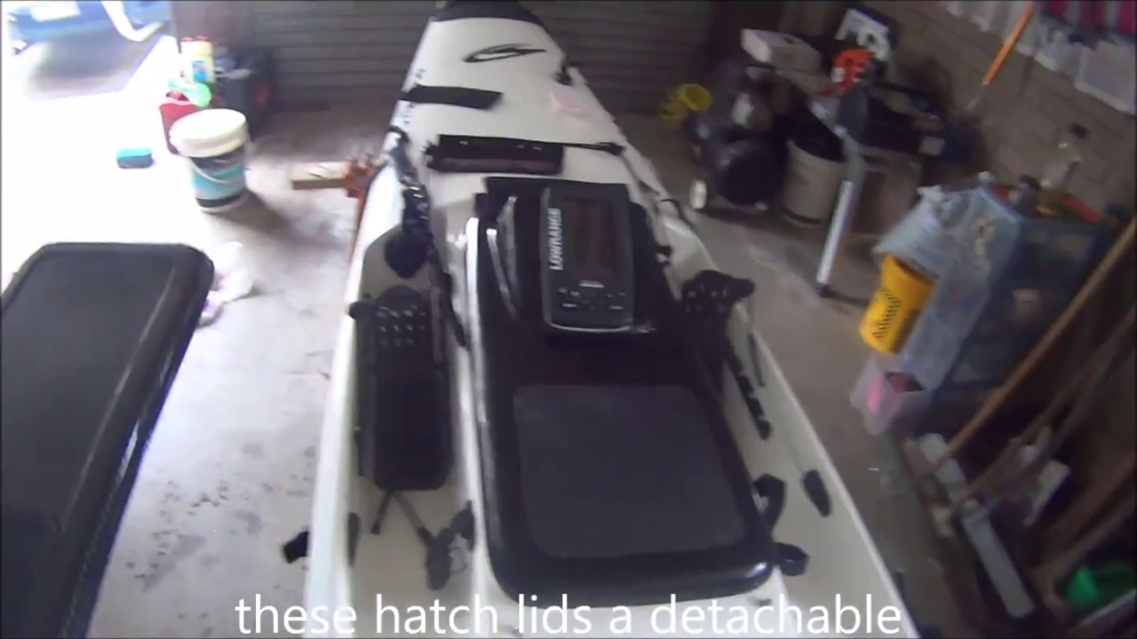 How to install transducer on kayak stealth profisha and for Kayak fish finder install