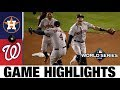 Gerrit Cole Leads Astros In 7-1 World Series Game 5 Win | Astros-Nationals MLB Highlights