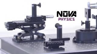 Optomécanique : Platines et réglages pour Breadboard