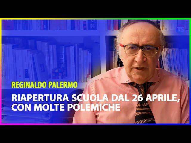 Riapertura scuola dal 26 aprile, con molte polemiche