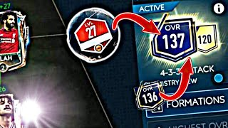 137 OVR | Team Upgrade | Fifa Mobile VS Attack Gameplay with 137 OVR