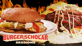How to Cook a Spicy Malaysian Egg Burger with George Motz | Burger Scholar Sessions