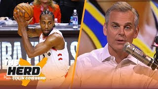 Colin recaps Game 1 of Finals, talks Kawhi's injury & impact on his FA decision | NBA | THE HERD