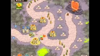 Kingdom Rush - Rotten Forest - Hard - Iron Challenge Walkthrough