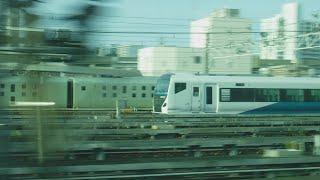 上野東京ライン宇都宮線直通快速ラビット宇都宮行きE233系3620EE-62横コツ+E233系E-15横コツ1号車クハE232-3015両から見た、JR東京駅〜JR赤羽駅間の左側面展望!