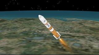Delta IV WGS-8 Mission Profile