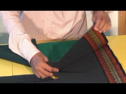 How to make Koli Saree part 1