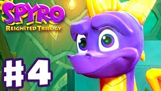 Spyro Reignited Trilogy - Spyro The Dragon - Gameplay Walkthrough Part 4 - Beast Makers (120%)