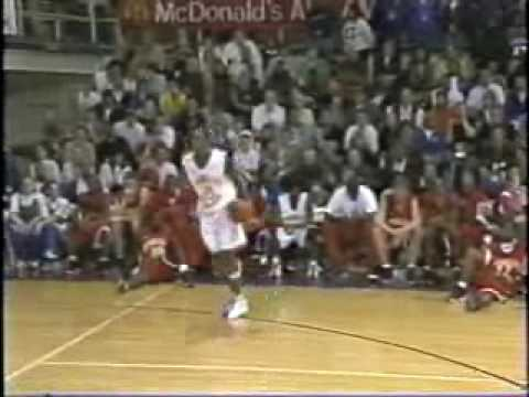 72a3ecdfbe0 2001 McDonald s All American Dunk Contest - YouTube