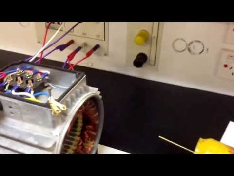 3 phase delta connected motor