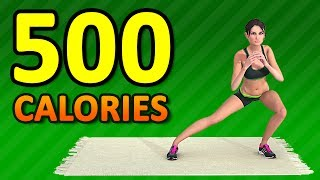 ULTIMATE 500 CALORIE WORKOUT [AT HOME EDITION]