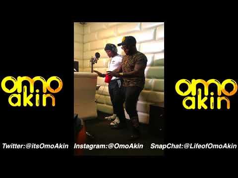 OmoAkin and Harmonize Recording Sisi maria remix