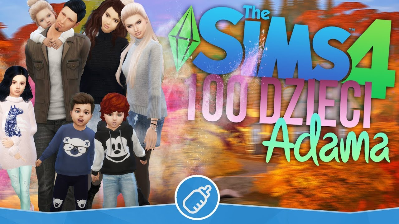 Download The Sims 4 Pl : Wyzwanie 100 dzieci Adama #114 - Halloween