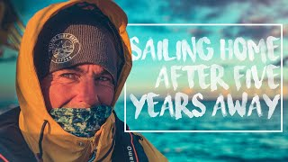 Sailing Couple Return Home After 5 Year Voyage.