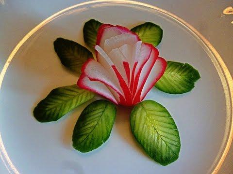 Simple Food Decoration Plate