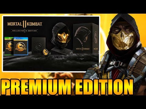 Mortal Kombat  - Standard Edition, Premium Edition, and Collectors Edition