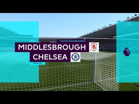 STUNNED! (Chelsea @ Middlesbrough - Matchday 12) - FIFA 17 Premier League