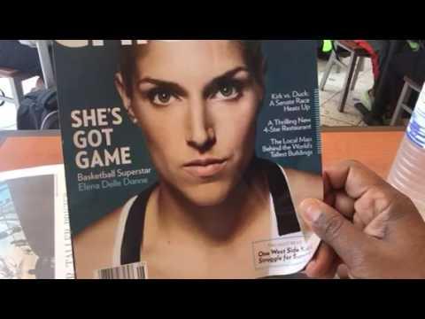 Elena Delle Donne On Chicago Magazine Cover