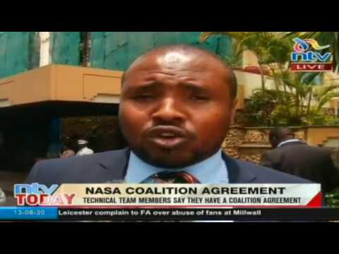 NASA Coalition technical team says coalition agreement reached