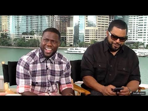 Kevin Hart and Ice Cube talk wives, kids, hard work and how to keep it REAL!