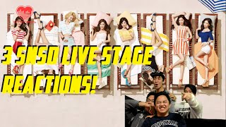 [4LadsReact] Girls' Generation (소녀시대) - Show Girls   Lion Heart   You Think Live stages Reaction - Stafaband