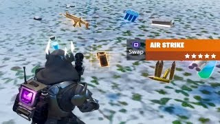 Use an Airstrike in Different Matches 3 Times Fortnite Week 10 Season 9 Challenge