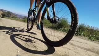 Biking in Malibu