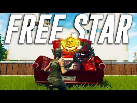 FREE Battle Star Location - Fortnite Week 6 Season 5