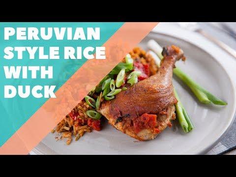 Peruvian Style Rice with Duck   Good Chef Bad Chef S10 E36
