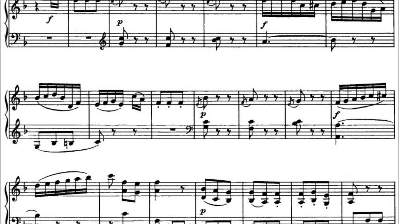 mozart sonata k 280