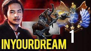 Still TOP 1 MMR in the World - inYourdreaM Dota 2 SEA Star