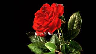 Keane - Love Is The End (lyrics)