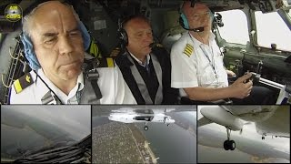 Perfect Air Urga Antonov 26 Touch & Go eye-to-eye with the pilots plus outside cameras! [AirClips]