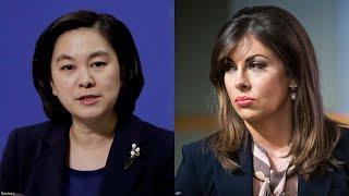 焦点对话:美中女发言人唇枪舌剑 台湾成为焦点