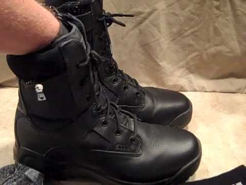5 11 A T A C 8 Quot Tactical Boot Review Youtube